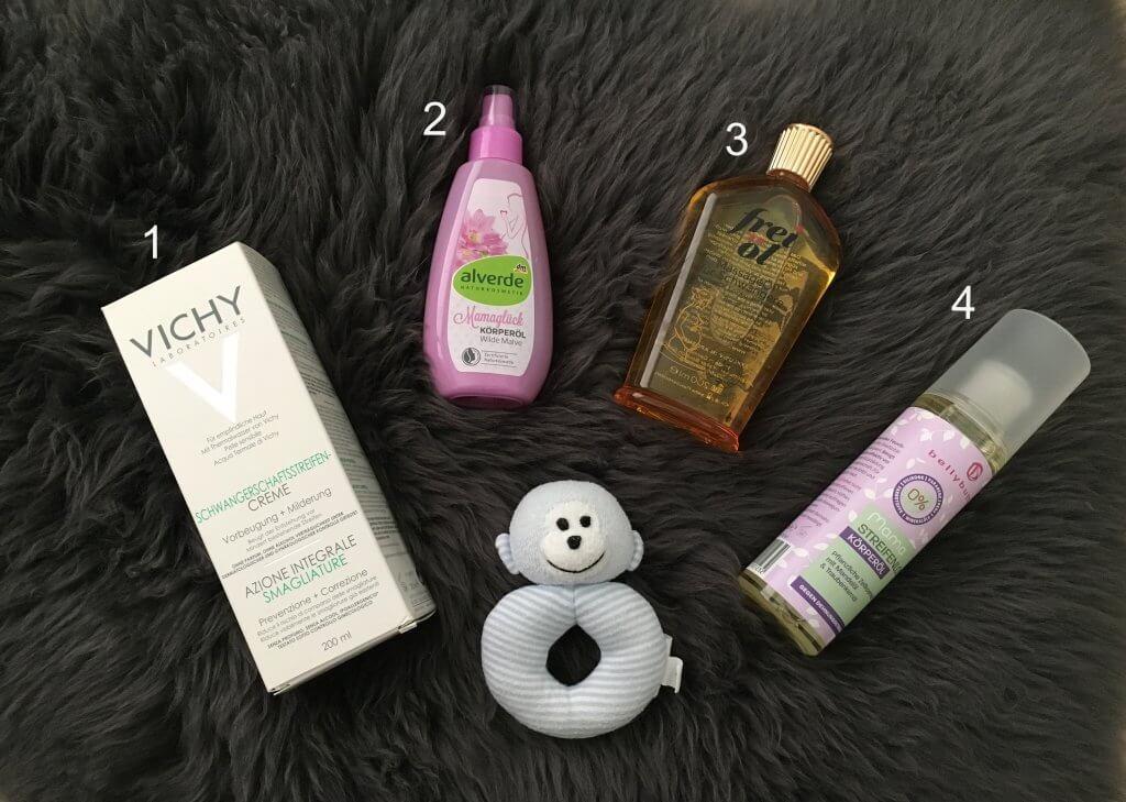 Happy Mum Blog - Schwangerschaftsstreifen Produkte