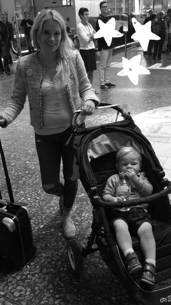 Happy Mum Blog - Mama - Kind Kurztrip nach Athen - Flughafen ZHR
