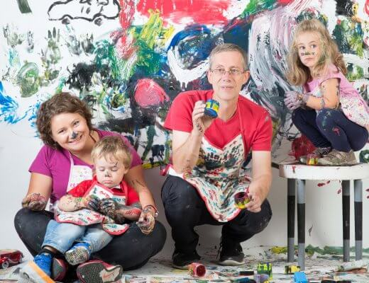 Happy Mum Blog - Mumprenkeur Ruxi mit Family