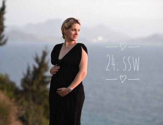 Happy Mum Blog - 24. Schwangerschaftswoche (SSW)