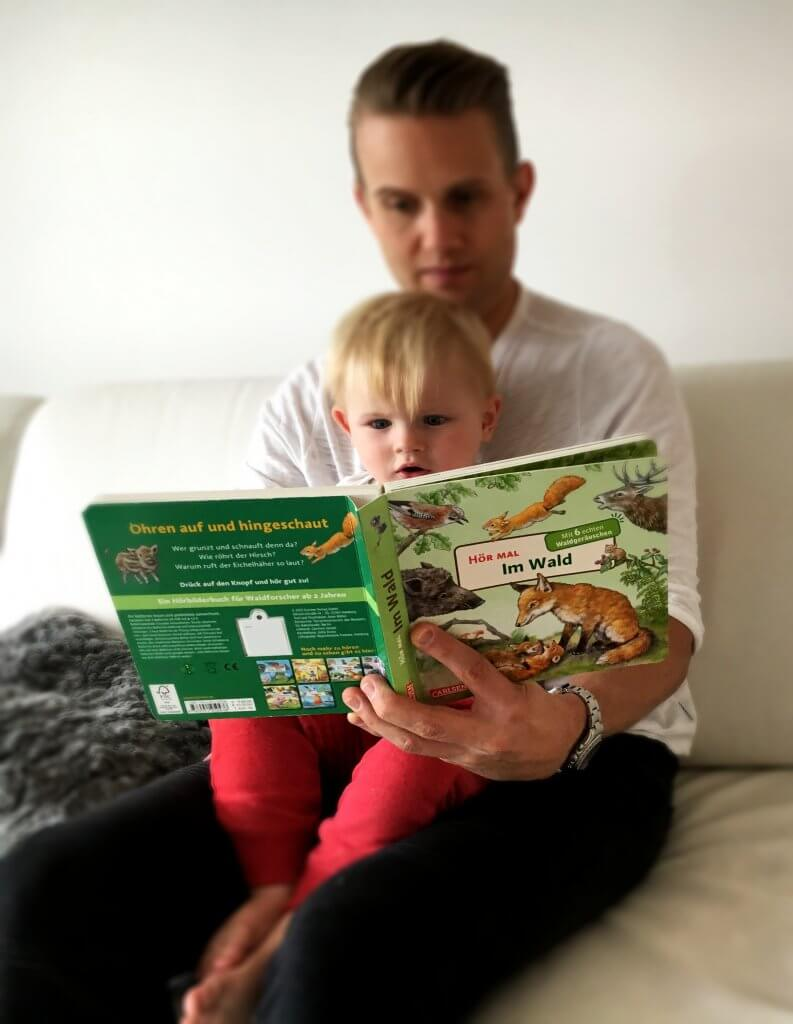 Happy Mum Blog - Verlosung Hör Mal - Vater und Sohn