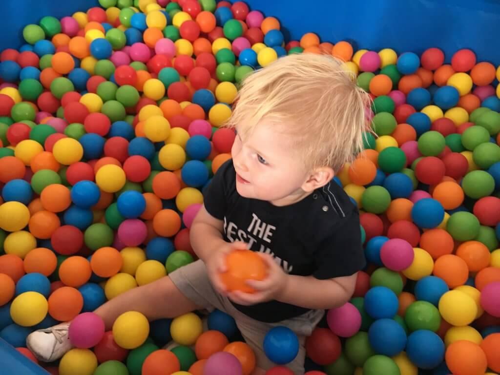 Happy Mum Blog - Familienferien Robinscon Club Kos - Bällebad