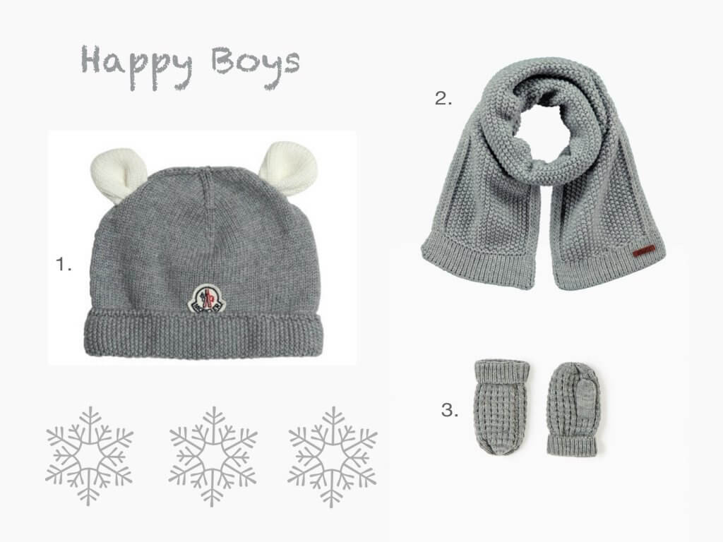 Happy Mum Blog - Winter Accessoires für Mutter und Kind - Boys