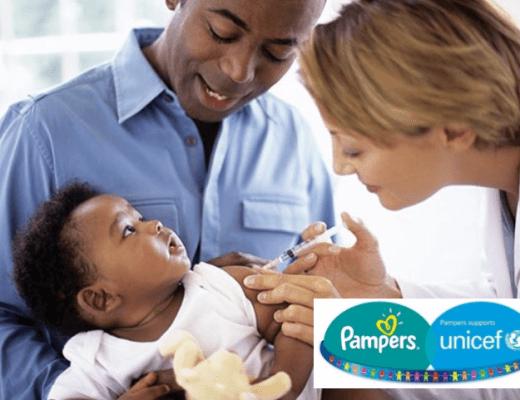 Happy Mum Blog - Kampf gegen Tetanus - Pampers für UNICEF - Titel