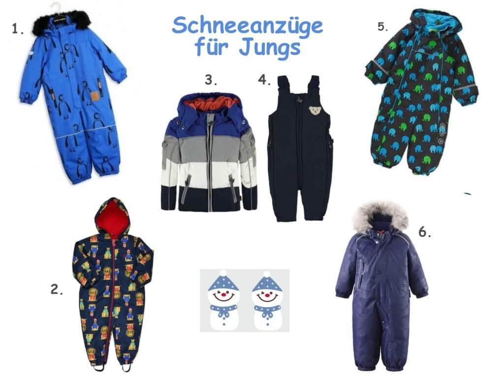 Happy Mum Blog - Kinder-Schneeanzug Auswahl