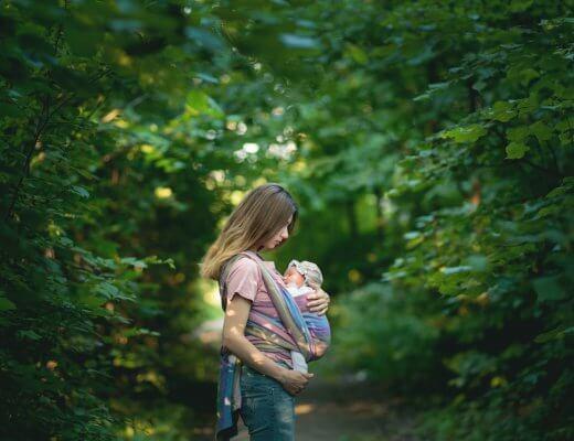Happy Mum Blog - Baby Tragehilfe