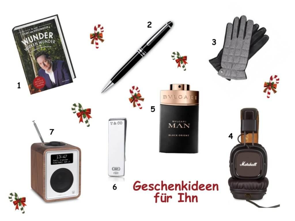 Happy Mum Blog - Geschenke für Ihn - Collage