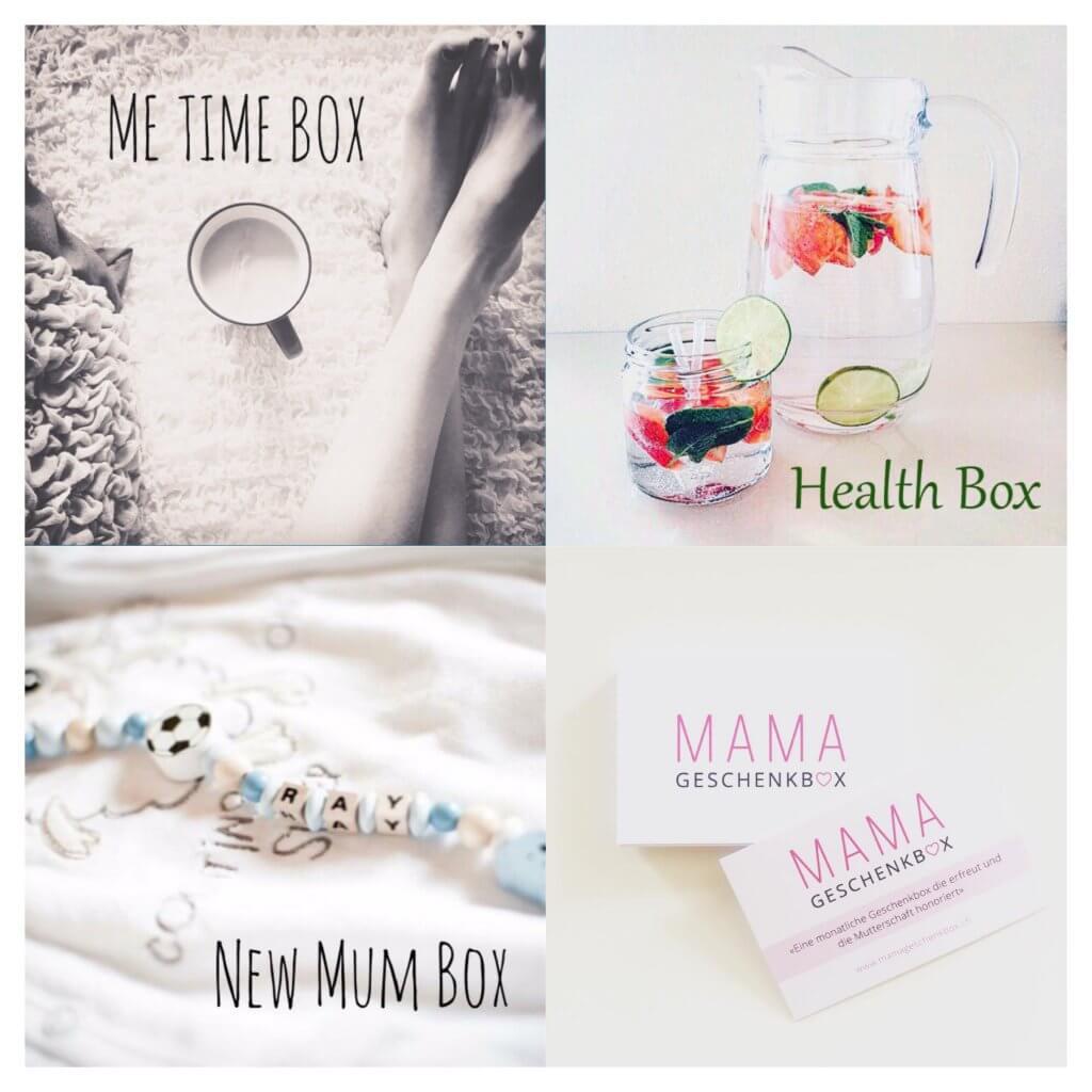 Happy Mum Blog - MumPreneur Michele - Geschenkbox Collage