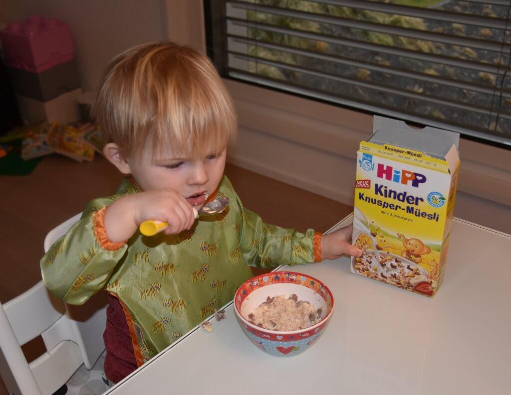 Happy Mum Blog - HIPP Produkttest Mamablog - HIPP Müsli
