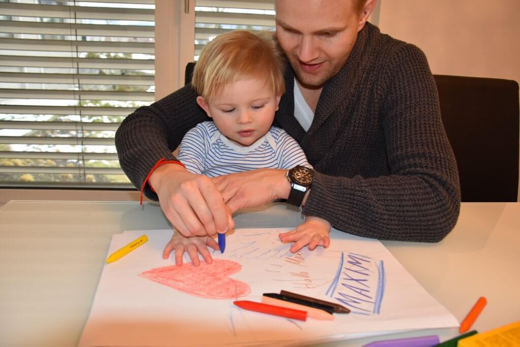 Happy Mum Blog - Quality Time mit BiCKids - Hand