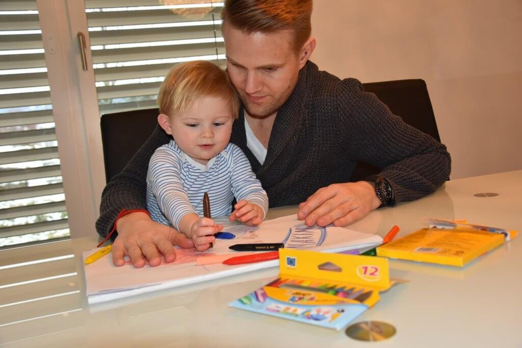 Happy Mum Blog - Quality Time mit BiCKids - Hand Papa