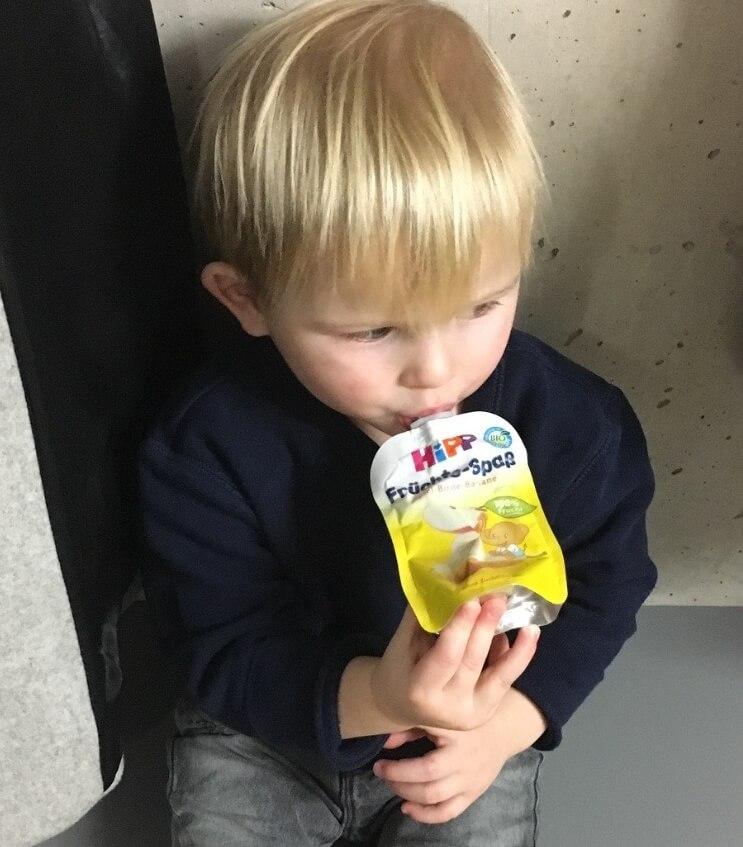 Happy Mum Blog - HIPP Produkttest Mamablog - HIPP Quetschie