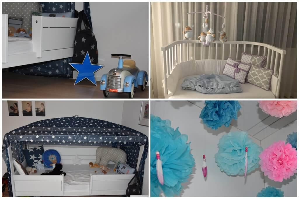Happy Mum Blog - 39. Schwangerschaftswoche - Collage Einrichtung Kinderzimmer
