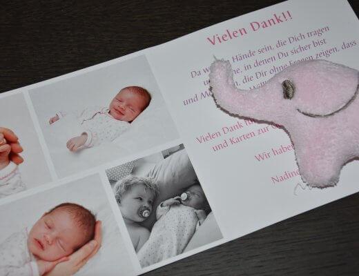 Happy Mum Blog - Geburtskarten gestalten mit fotocolorservie - Titelbild