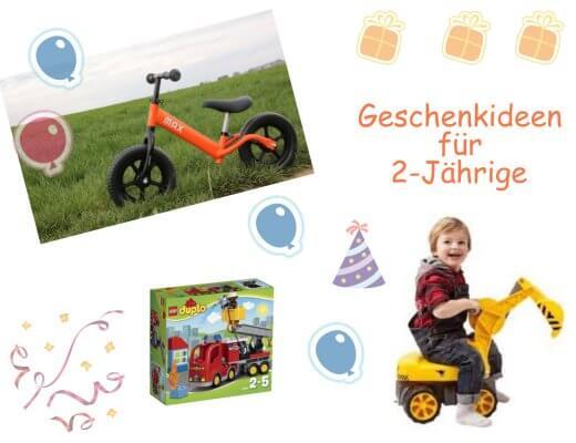 Happy Mum Blog - 7 Geschenkideen für 2-Jährigen - Titelbild