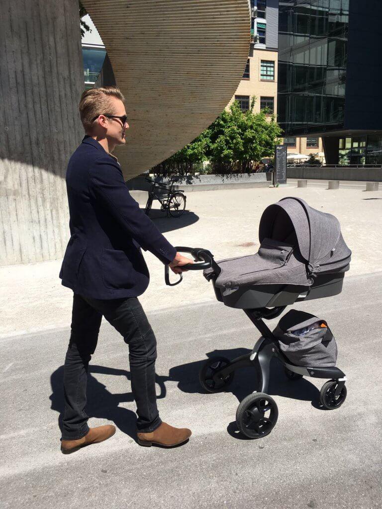 Happy Mum Blog - Stokke Xplory Kinderwagen and the city