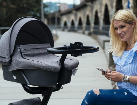 Happy Mum Blog - Stokke Xplory Kinderwagen and the city