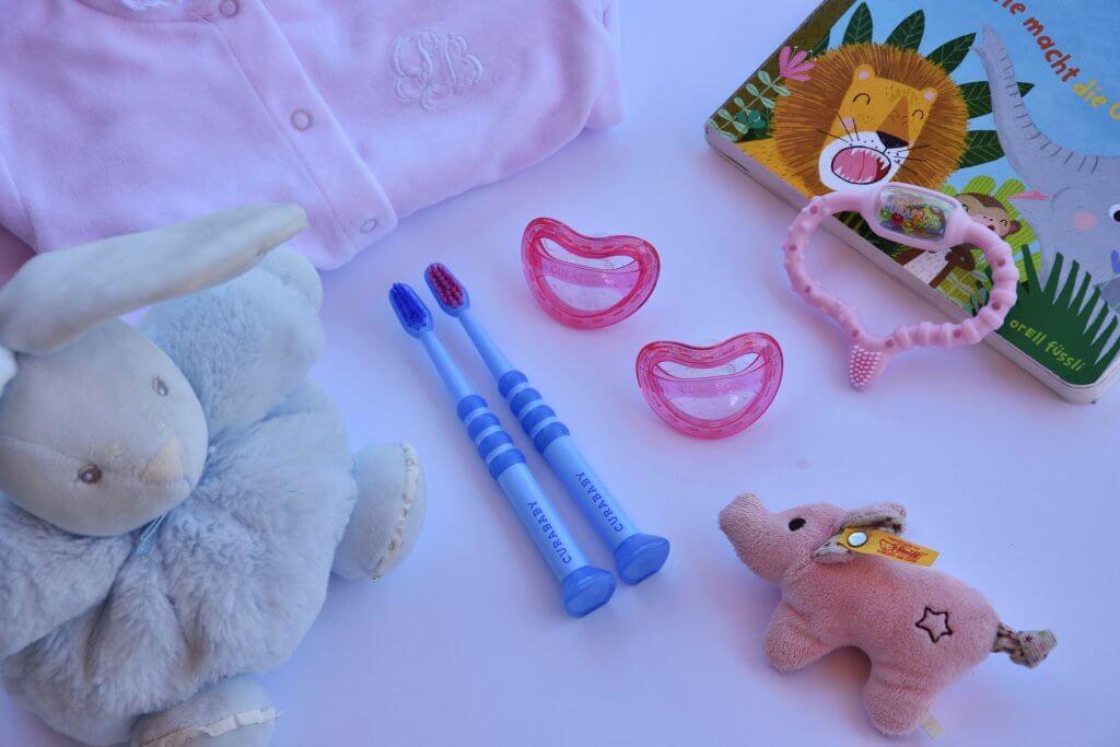 Curaprox Baby Hebamme Dayo Oliver Richtig Atmen Beissring, Schnuller, Nuggis, Zahnbürste, Gewinnspiel Happy Mum Blog Mamablog