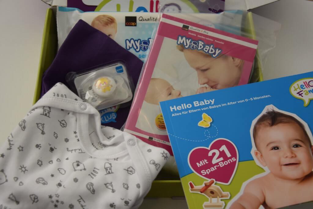 Coop Hello Family Überraschungspaket Geburtspaket