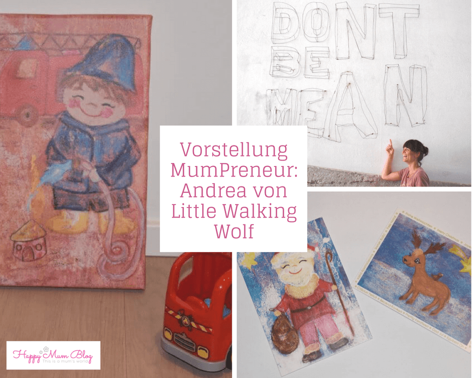 Vorstellung MumPreneur: Andrea von Little Walking Wolf