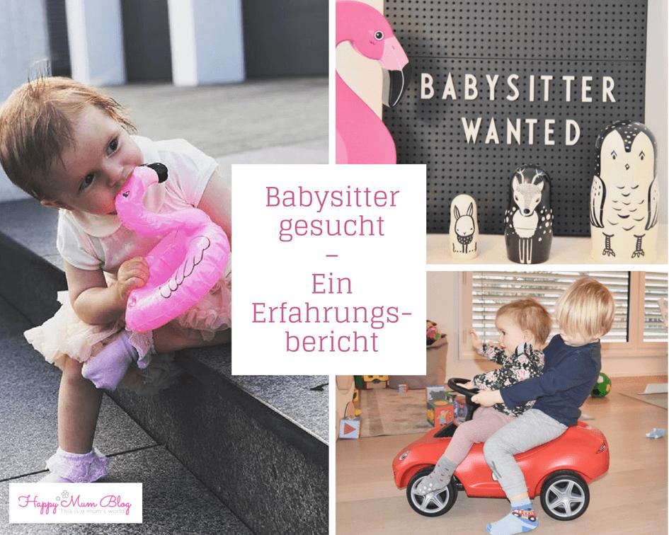Babysitter gesucht - Ein Erfahrungsbericht