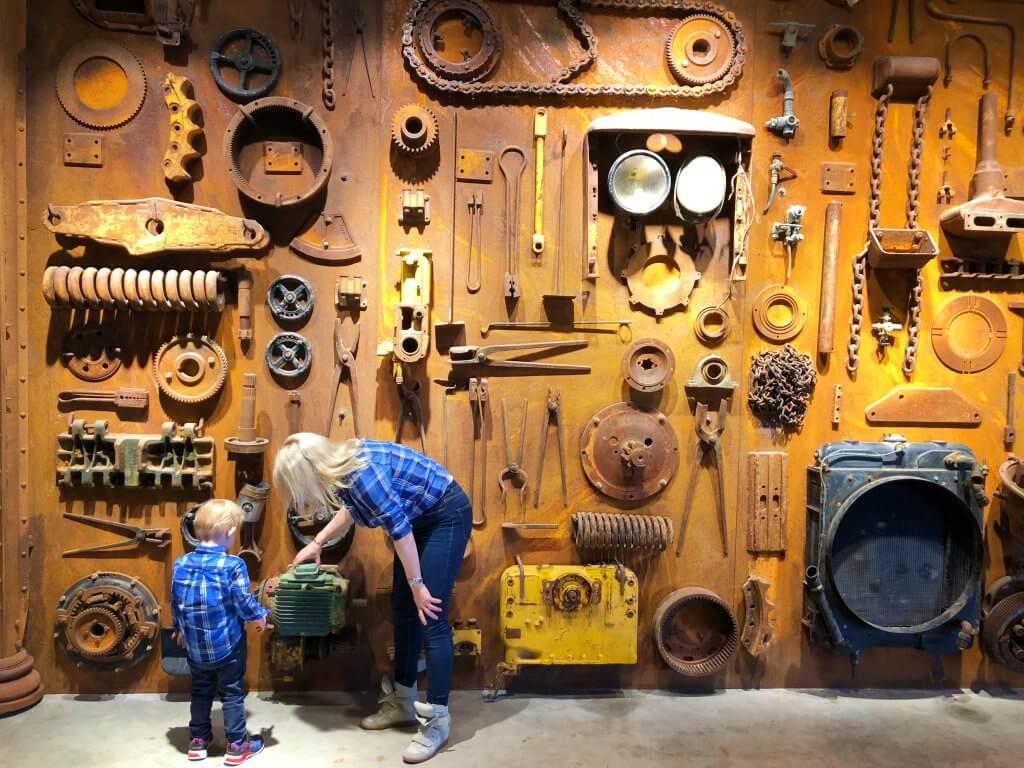 Ausflugsziel, Ausflugstip, Baggermuseum, Ebianum, Ausflug mit Kinder