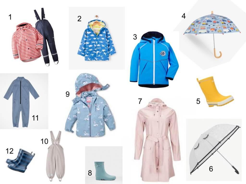 ForK, Tchibo, Kindermode, Regenbekleidung, Regenjacke, Regenhose, Kinder