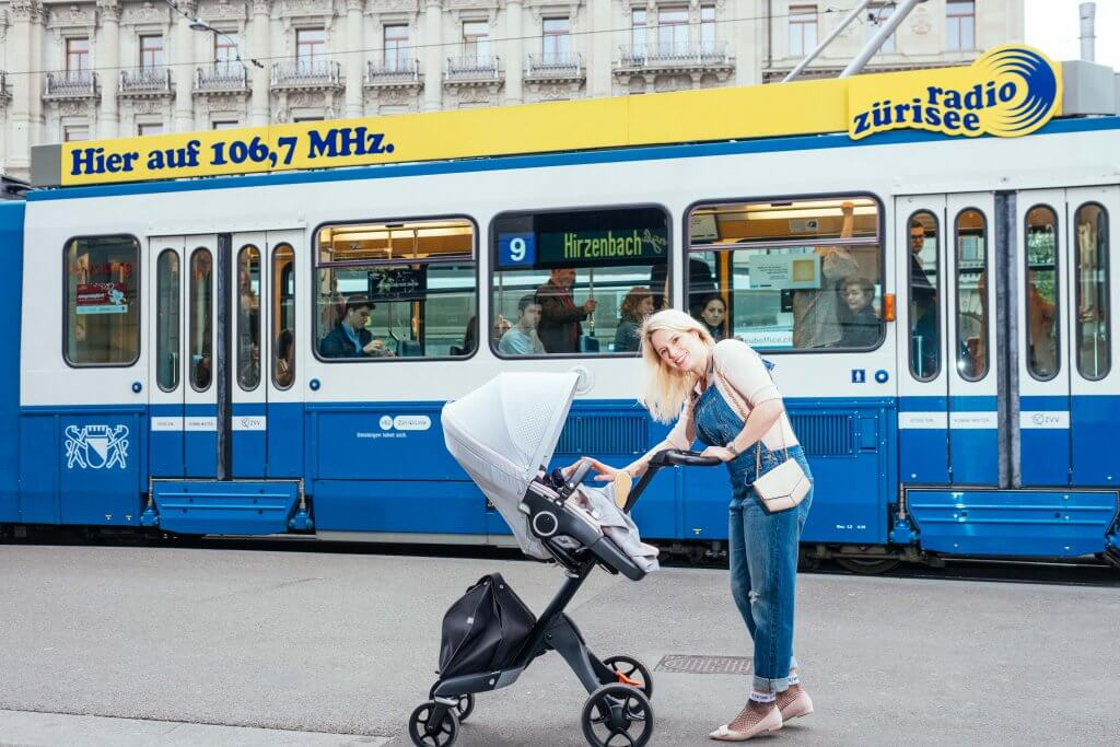 Stokke Explory V6, Summer in the city, Ruxi Balea Photo, Kinderwagen