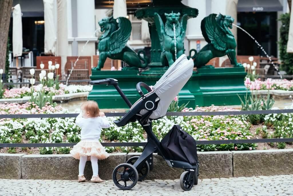 Stokke Xplory V6, Summer in the city, Ruxi Balea Photo, Kinderwagen