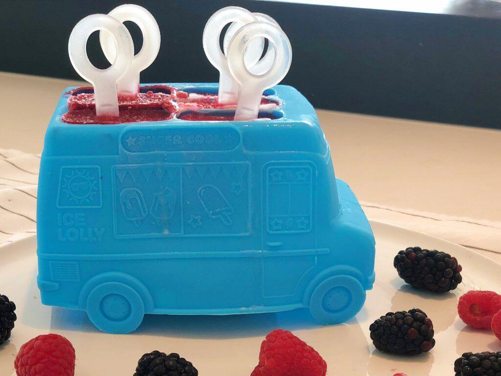 Frozen Yoghurt, Popsicle, Eis am Stil, DIY, Eis Selbermachen, Happy Mum Blog