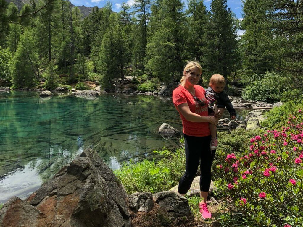 Wandern mit Kindern, Val de Camp, Poschiavo, Graubünden, Schweiz, Post,