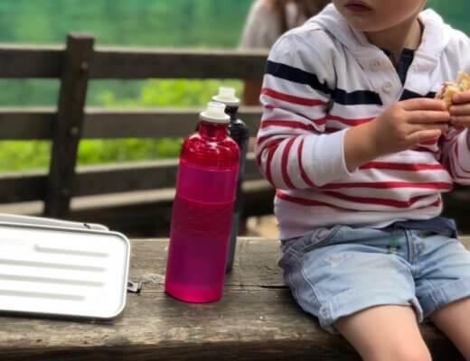 Wanderrucksack packen, wandern mit SIGG, Wandern mit Kinder