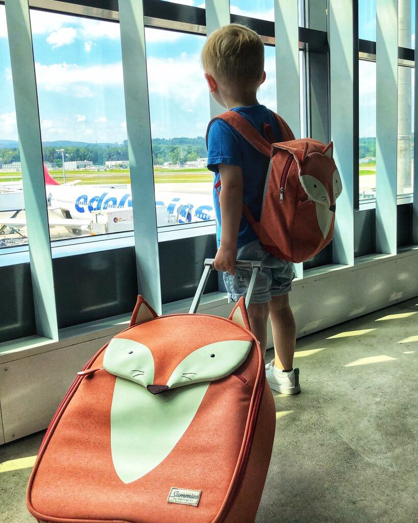Fliegen mit Kinder, Happy Mum Blog, Travel Essentials, Flugreise, Concord, Sammies by Samsonite, Bedbox, jet kids, Jetsetter