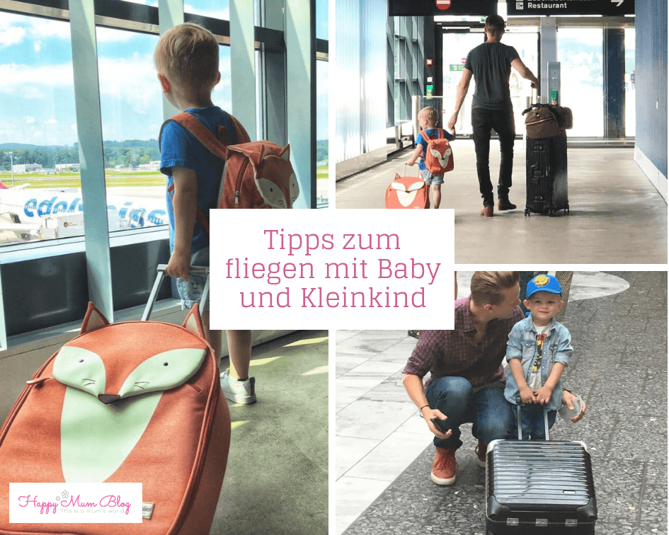 Tipps zum fliegen mit Baby und Kleinkind