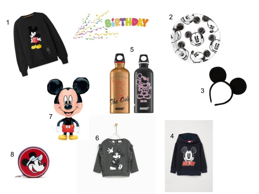 Mickey Mouse 90; Happy Birthday Mickey Mouse; Mickey Mouse - SIGG Gewinnspiel