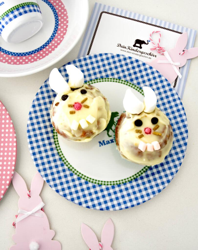 Cupcake, Ostern, Cupcake Hase, Cupcake Rezept, dein Kindergeschirr