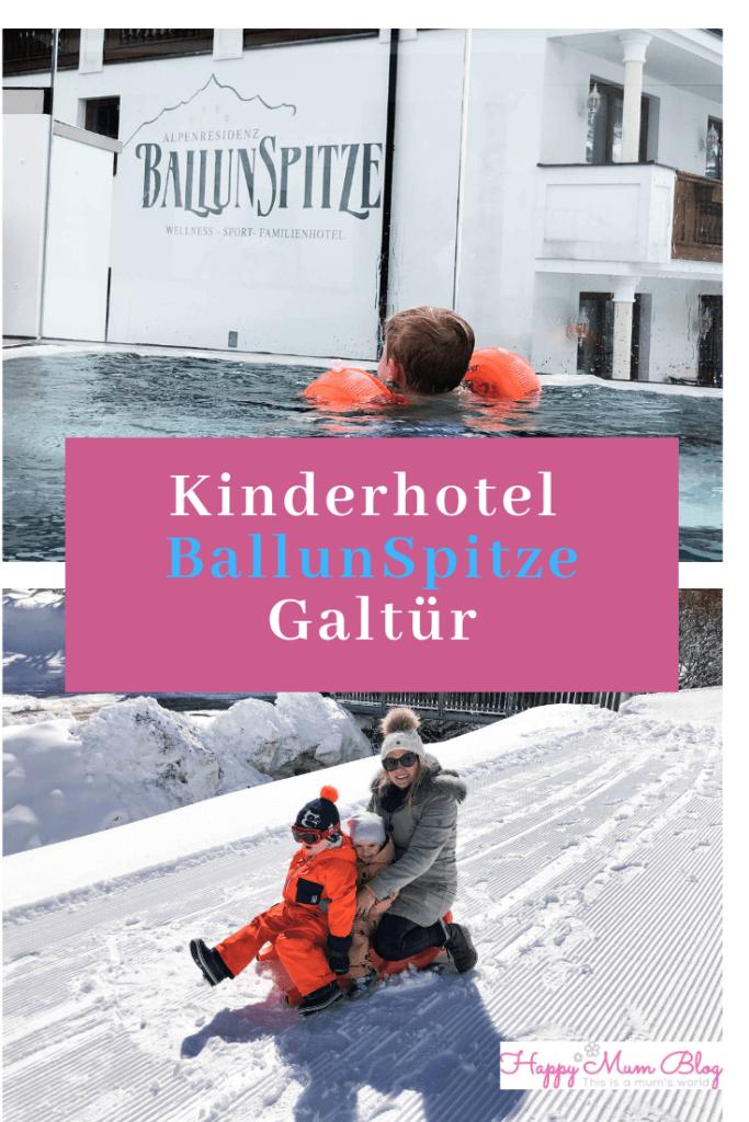 BallunSpitze, Alpenresidenz Ballunspitze, Glastür, Tirol, Ischl. Kinderhotel