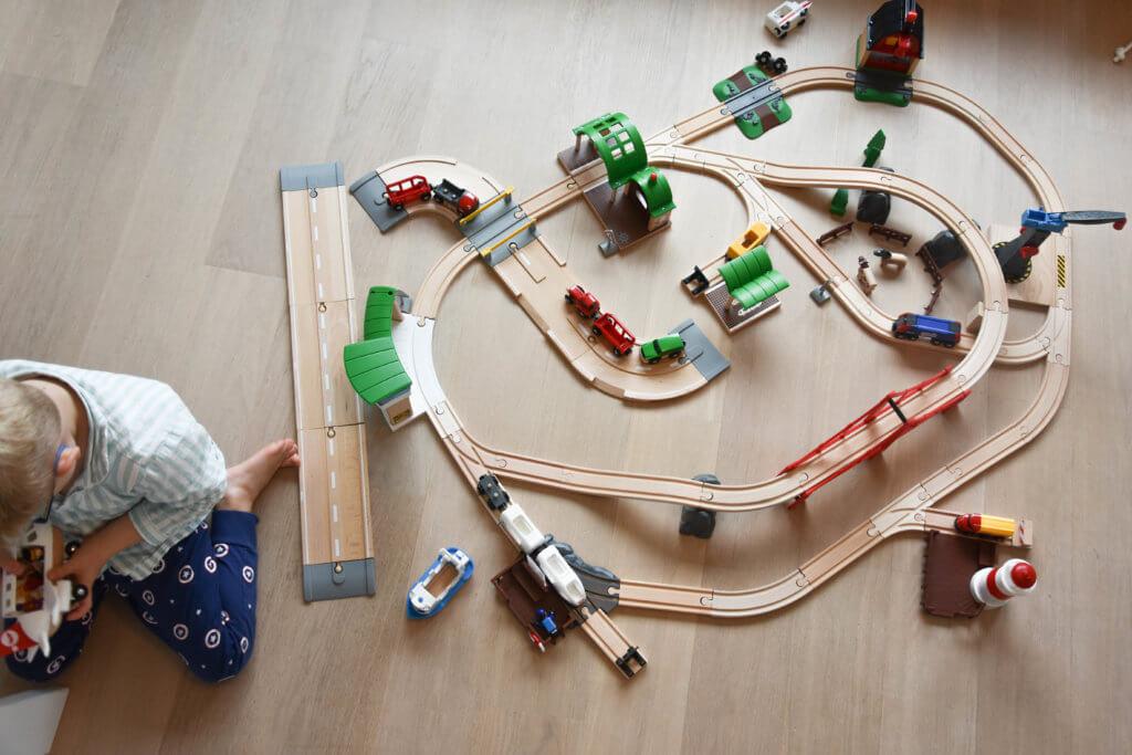 Brio Eisenbahn, Holzspielzeug, Brio, Franz Carl Weber, Weihnachtsgeschenk